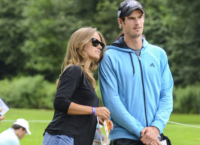 Tennis star Andy Murray and girlfriend Kim Sears were among those watching the action in Paramus. Murray will compete at the U.S. Open later this month.