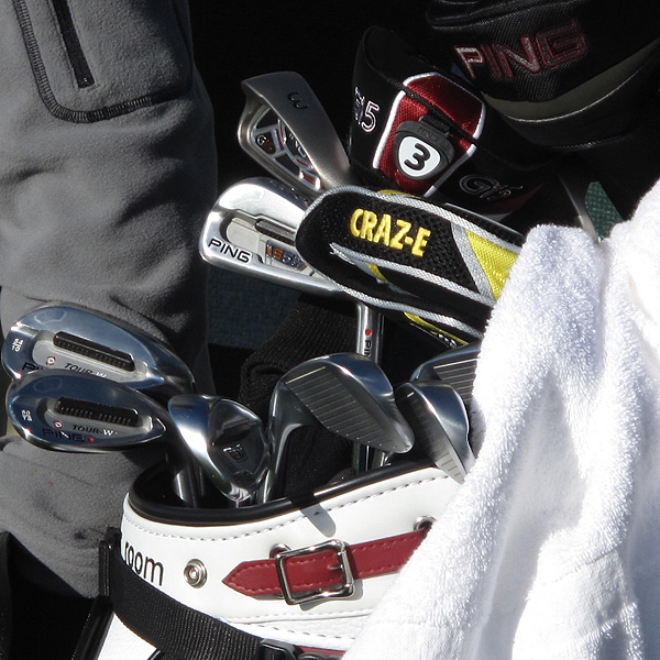 plays S57 irons, but the 2009 Masters champion has been tinkering with G15 and i15 3-irons that could help him launch the ball higher.