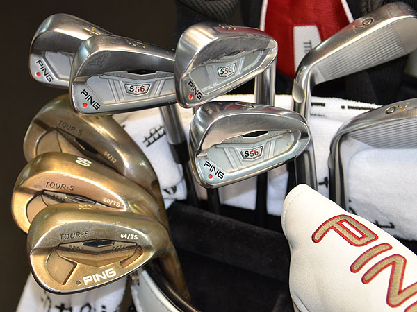 Angel Cabrera won the 2007 U.S. Open at Oakmont. If he wins this week at Congressional, he'll do it using Ping S56 iron and Tour-S Rustique wedges.