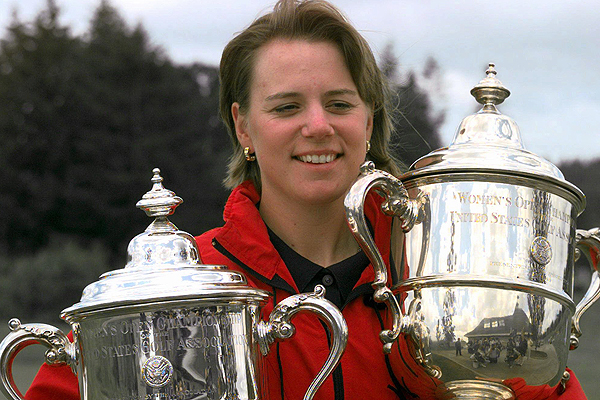 Sorenstam became first non-American woman to successfully defend a U.S. Open title when she won the 1996 U.S. Open at Pine Needles Golf Club in Southern Pines, N.C.
