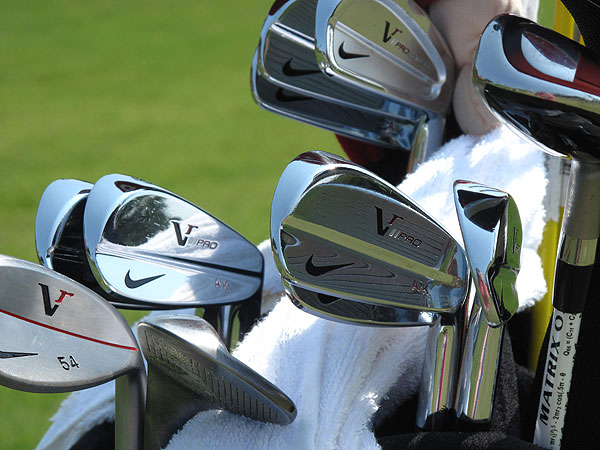Anthony Kim uses Nike VR Pro Combo 3- and 4-irons and VR Pro Blade mid- and short-irons.