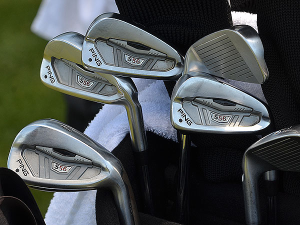 Arjun Atwal is using Ping's S56 irons.