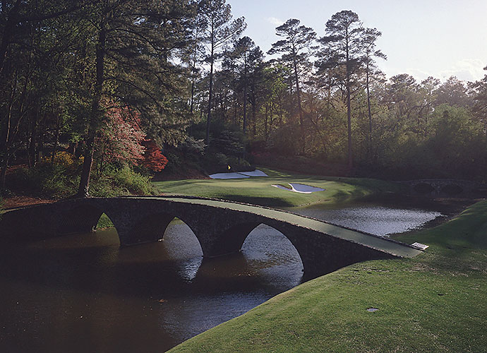 "4. Augusta National Golf Club, Augusta, Ga., No. 12, par-3: ""The most demanding par 3 in golf,"" declares Jack Nicklaus of this 155-yarder with a slender green that's set on a diagonal and fronted by Rae's Creek. Just ask Tom Weiskopf, who made 13 here in the first round of the 1980 Masters."