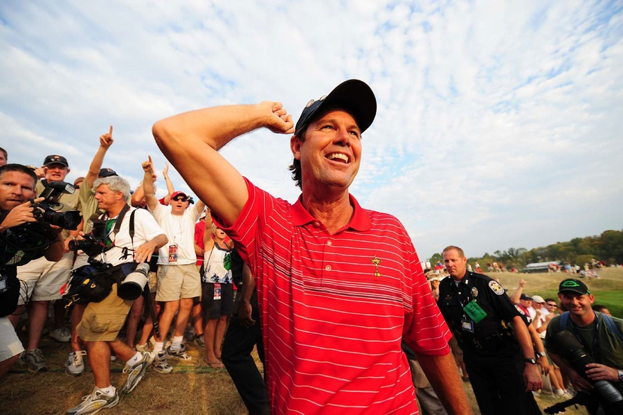 Paul Azinger, 2008                       In 2008 at Valhalla, the U.S. finally won in a rout, 16.5-11.5, as Paul Azinger, taking cues from a variety of business, military, political and coaching mentors, thought about the Ryder Cup team in whole new ways. You know about his pods. You know how he talked the PGA into giving him four picks. The most emotional of Ryder Cup players was the most scientific of Ryder Cup captains. The players felt they were in sure hands.
