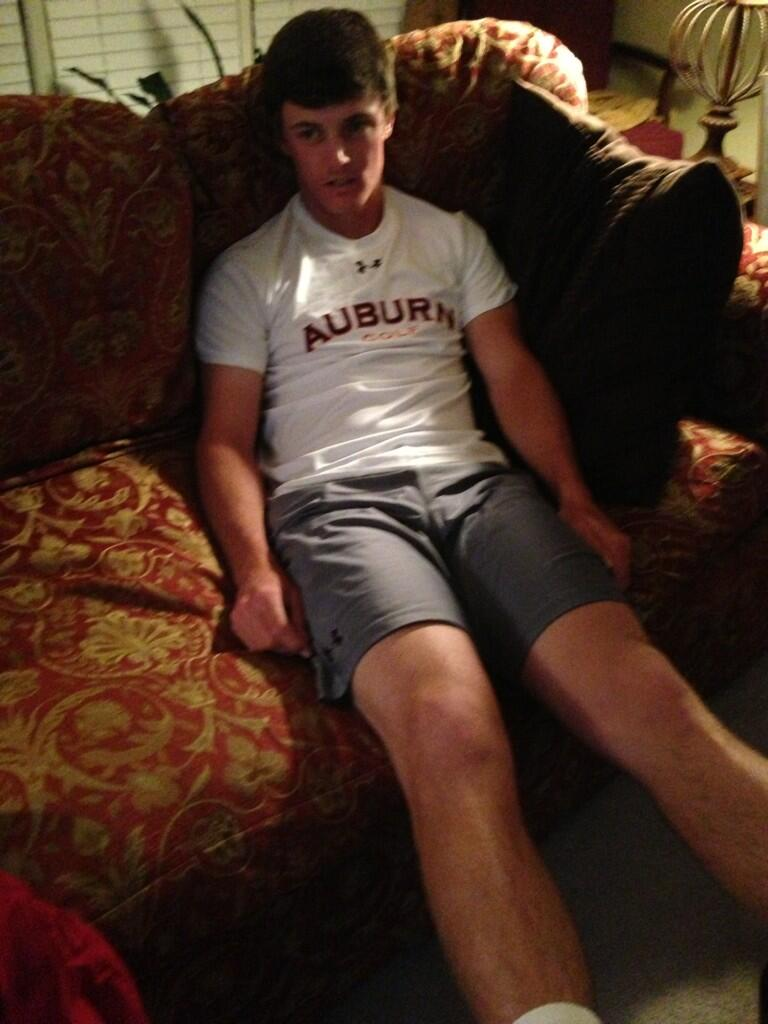 "Dufner's fellow Auburn University alum Blayne Barber submits his attempt at #dufnering: ""#Dufnering is blowing up right now. How's this look @Keegan_Bradley? #AuburnDufnering"""