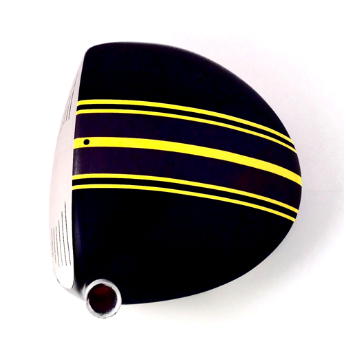 ClubCrown Stripe ($20; clubcrown.com): Give your driver a sleek, customized look that doubles as an alignment aid (or check out a myriad of other design options on the company's website) with ClubCrown's new clubhead adhesive you can install yourself.