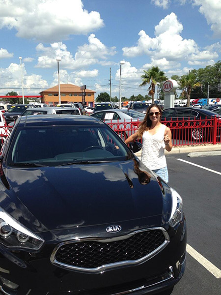 @BeatrizRecari: Check out my new #KiaCadenza!!! Thank you @Kia @KiaLpgaClassic! Such an amazing car! #blackonblack