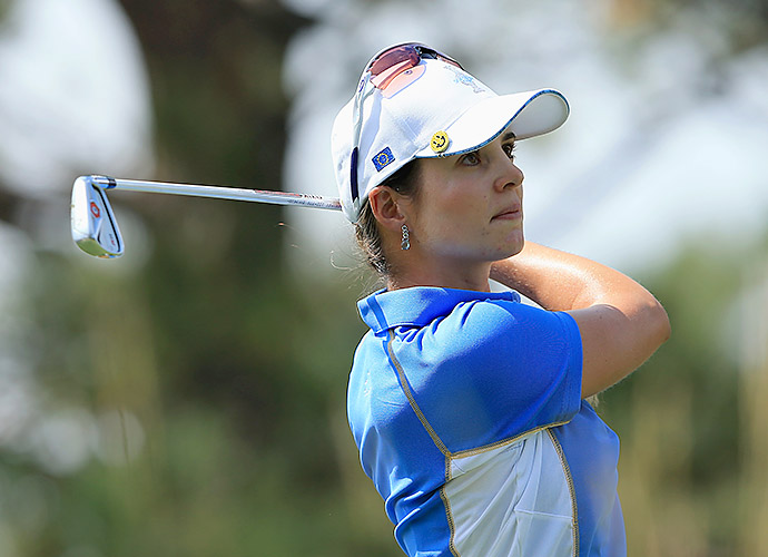 The European Team defeated the United States Team 18-10 to win the Solheim Cup.