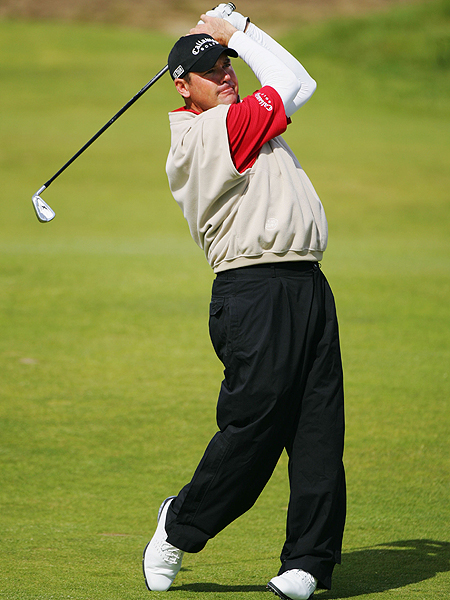 Rich Beem made two double bogeys on the back nine and finished at one over.