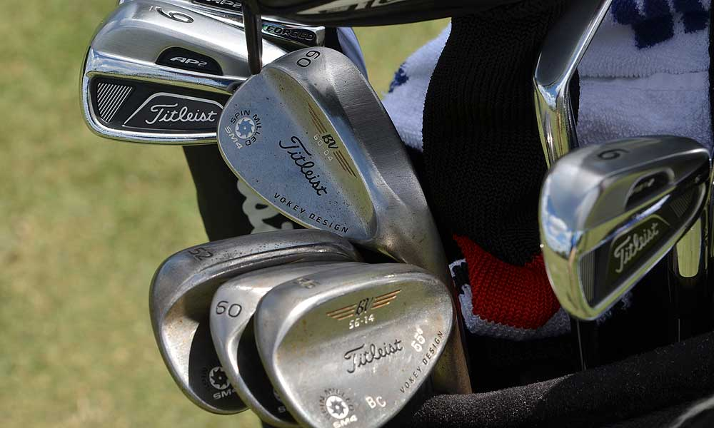 Ben Crane is playing Titleist AP2 712 irons and Vokey Design SM4 wedges.