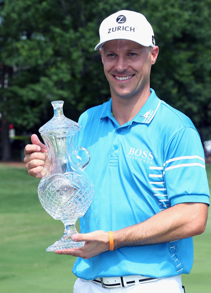 Ben Crane won the FedEx St. Jude Classic on Sunday, leading wire to wire to secure his fifth PGA Tour victory and his first since 2011.