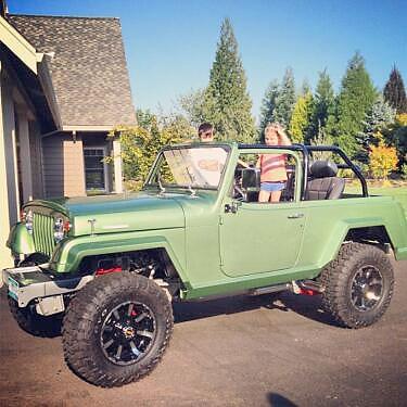 Ben Crane's 1971 Jeepster