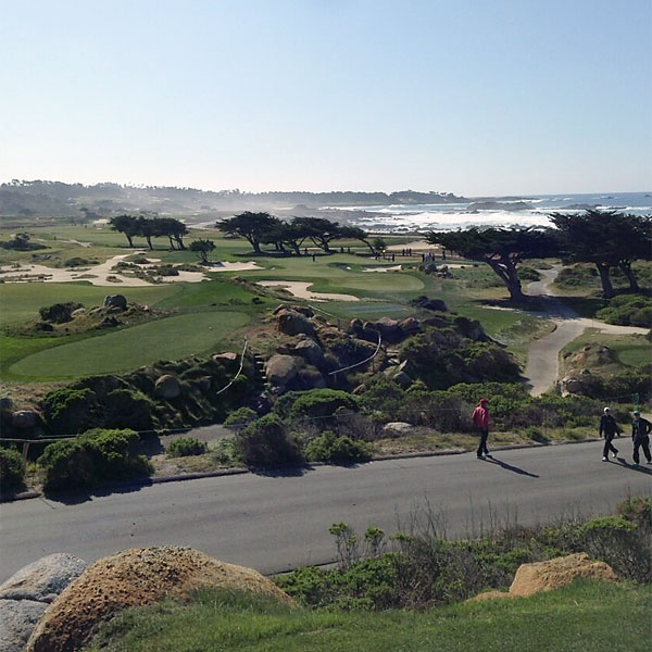 @knohles: Decent view from #11 at Monterey peninsula cc