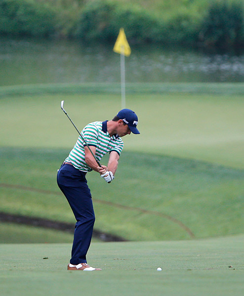 Billy Horschel was three under on the day, two short of leader Roberto Castro.
