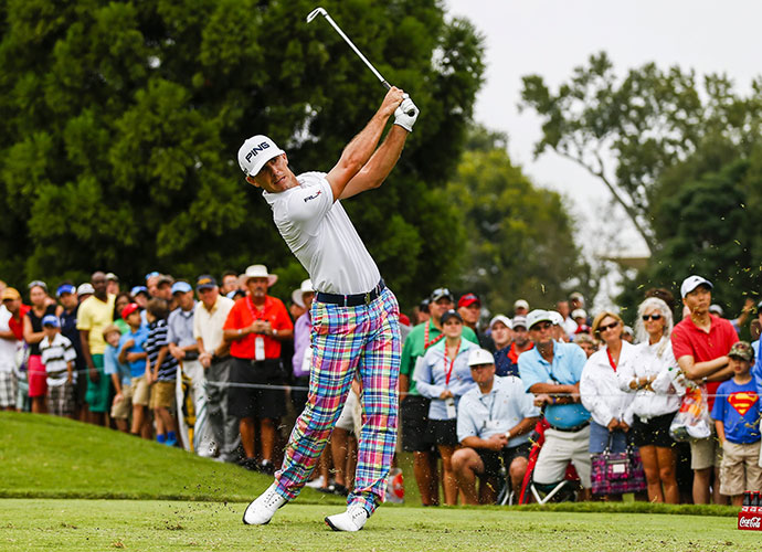 BEST IMPRESSION OF THE NEXT GREAT AMERICAN GOLFER                     Billy Horschel at the BMW and the Tour Championship: Instead of humbling Horschel, the Deutsche disaster only fueled his desire to get back into high-pressure situations. In the weeks that followed, he dusted off his pastel-plaid pants and won the BMW Championship, the Tour Championship and the FedEx Cup title. At season's end, Horschel was poised to crack the top 10. Among twenty-something Americans, only Fowler ranked higher.