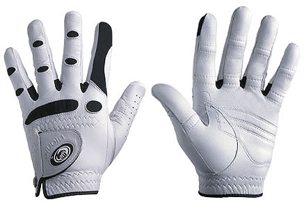 """Bionic Golf Gloves                      bionicgloves.com, $29.95                      If you can get over the robotic-sounding name, these golf gloves feature anatomical relief padding that evens contact with the grip and helps prevent your club from twisting in your hands. """"Motion zones"""" over rotation areas — such as your knuckles — promote natural movement, and web zones between the fingers help keep your hands cool and promote a better, more accurate fit. The glove also comes with extra padding in the palm to eliminate discomfort."""