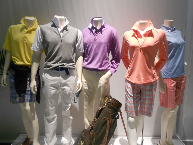 Bobby Jones showcased an array of beautiful, country club-worthy designs.