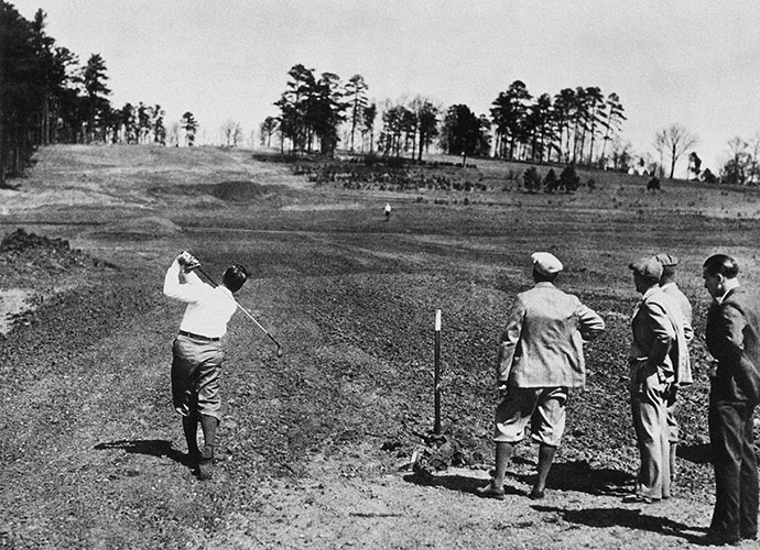 The Good Doctor MacKenzie: For years, it was mistakenly written that Bobby Jones chose Dr. Alister MacKenzie to design his dream course on the strength of Jones' positive visits to MacKenzie's Cypress Point and Pasatiempo in 1929. Actually, the two men had met earlier at St. Andrews, and it was their shared love of the Old Course that bonded the two. MacKenzie's last visit to Augusta occurred in the summer of 1932, so he never got to see his completed work. He died on January 6, 1934, less than three months before the first Masters.