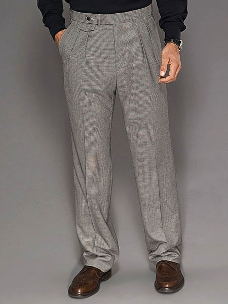 Bobby Jones Classic Houndstooth Trouser                       $295, bobbyjonesshop.com                       In finely-tailored pants like these from Bobby Jones, any man will look and feel like a pro. (Note: We didn't say they'd help him score like one.) Made from 100 percent wool, they offer a timeless sophistication and go from the office to the course as easily as the boss on Friday afternoon. Complete Holiday Gift Guide