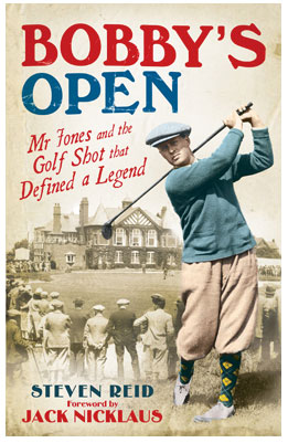 Bobby's Open: Mr. Jones and the Golf Shot that Defined a Legend                       $24.95, amazon.com                       Having already won a U.S. Open and U.S. Amateur, Bobby Jones pulled off a miracle recovery shot to win the 1926 Open Championship and cement his reputation in golf history.