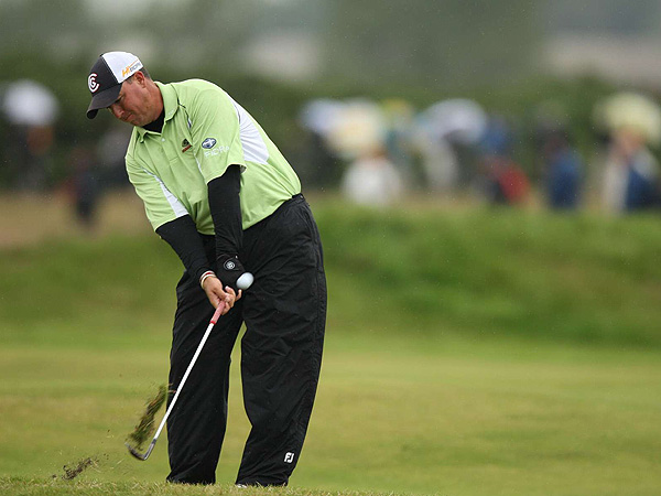 Boo Weekley bogeyed the final three holes to shoot 75 and finish T31 going into Sunday.
