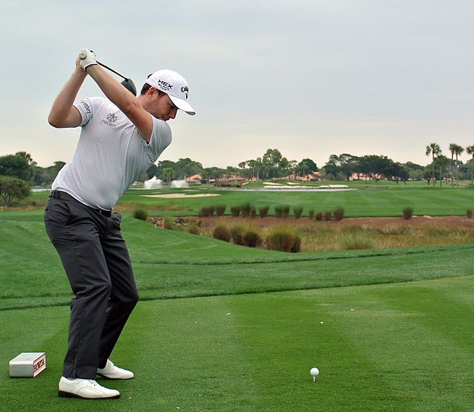 Branden Grace was tied with Rickie Fowler and two others one back of leader Camilo Villegas after a 65.