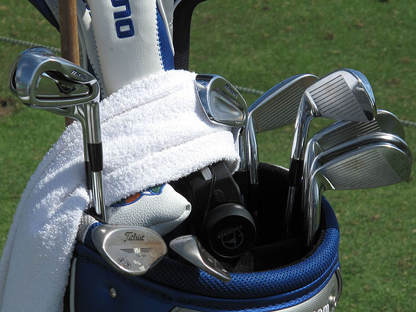 has won two PGA Tour events this season using a set of Mizuno irons that includes three different models—Mizuno MX 900 (3,4), MP 60 (5-8), and MP 32 (9, PW).                                          More Equipment:                     • The Shop Equipment Blog                     • GOLF Equipment Videos                     • Complete list of PGA Tour winning bags                     • Special Section: Drivers
