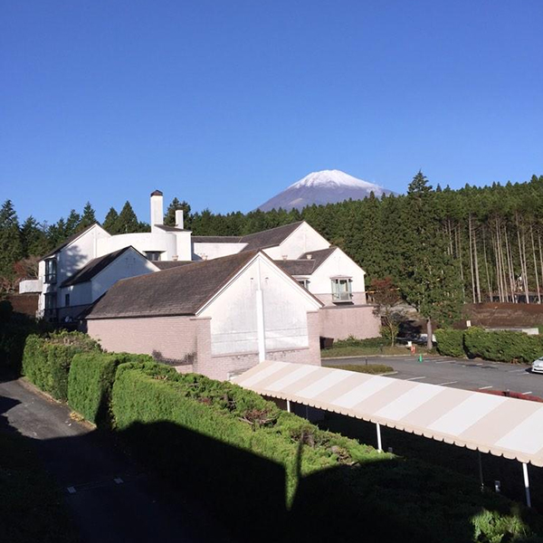 @bubbawatson View from hotel ain't bad! #MountFuji