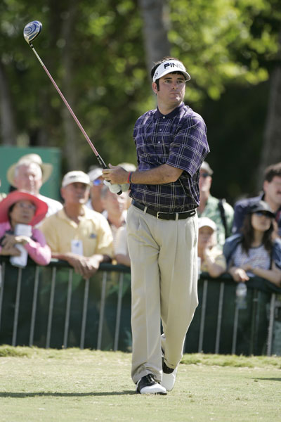 7. 398 Yards - 2006 Sony Open                         Bubba averages 336 yards off the tee thanks in part to a prodigious 398-blast at Waialae, tied for the seventh-longest drive of his career. He finishes fourth in the tournament and earns $244,800.