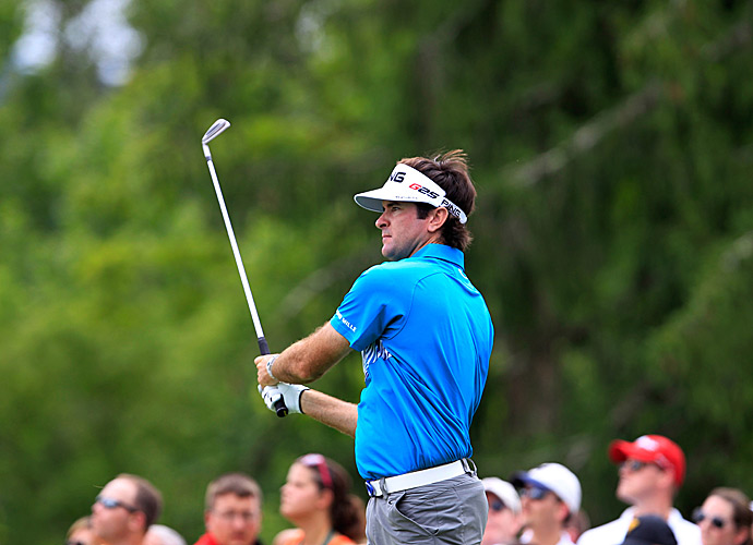 Bubba Watson shot a two-under 68 Thursday.