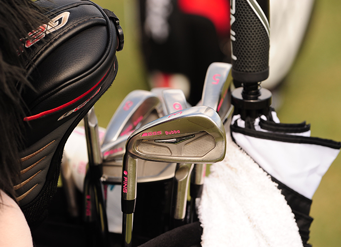 Bubba Watson continued his solid play this season at Doral with his Ping irons.