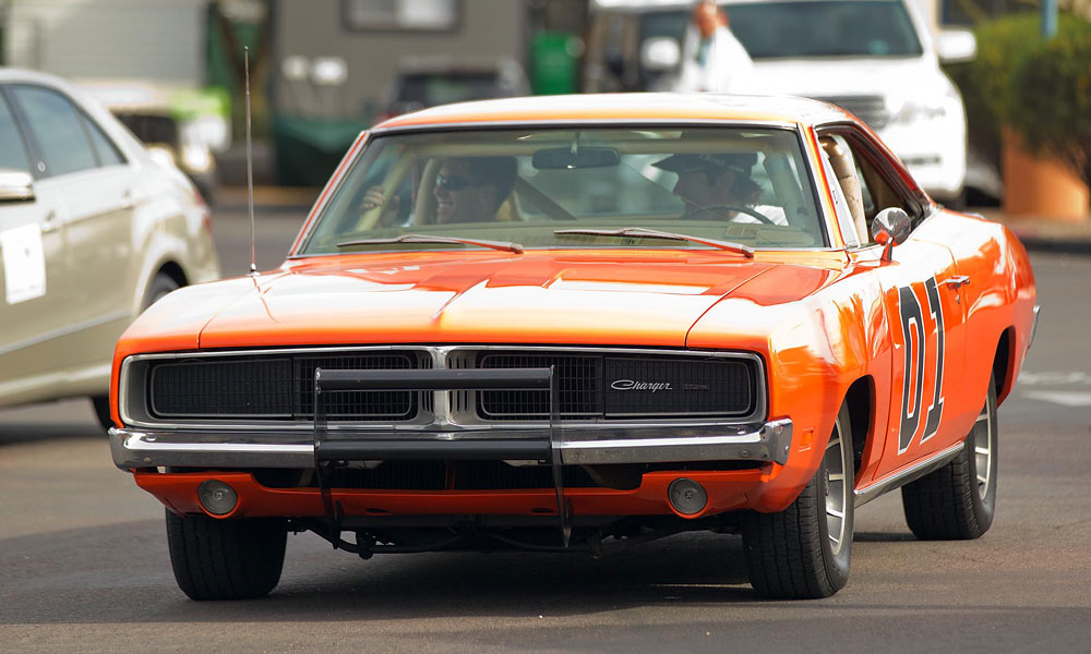 Bubba Watson owns this General Lee, one of the original Dodge Chargers used in The Dukes of Hazzard.