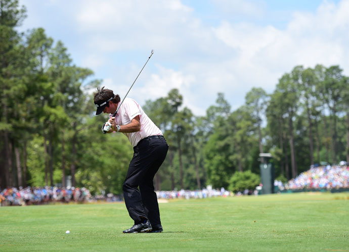 Bubba Watson shot 70 in his second round, six strokes better than Thursday. He missed the cut, finishing +6.