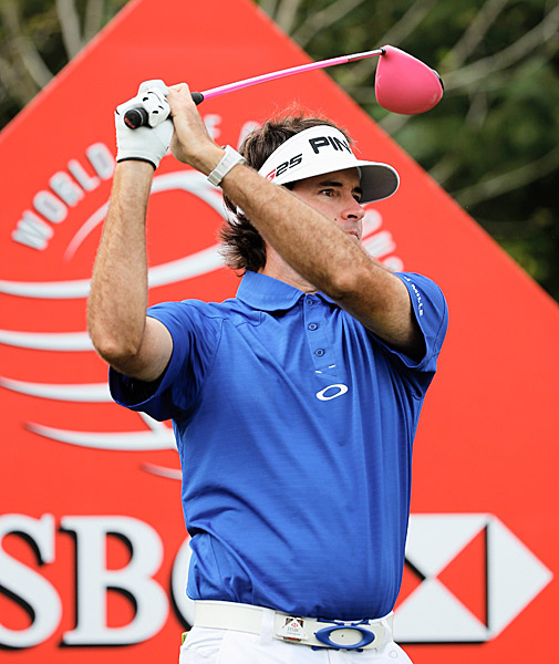 Bubba Watson is tied for second after a 69.