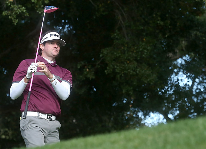 Bubba Watson is two shots back.