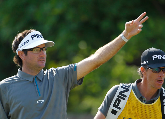 Bubba Watson improved on his first-round 76 with a 72, but was +4 overall and missed the cut.