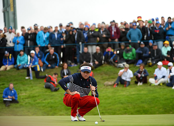 Watson, the reigning Masters champion, failed to pick up any points at Gleneagles, going 0-3-0.