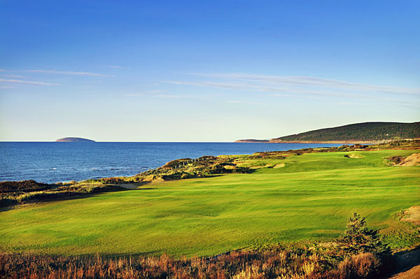 Cabot Links, Iverness, Nova Scotia, Canada                       Turn loose Bandon Dunes' Mike Keiser on any coastal property and the result is likely to be successful. Designer Rod Whitman, an Albertan who prepped under Pete Dye and Bill Coore, built Canada's first authentic links for Keiser and codeveloper Ben Cowan-Dewar on a rolling plot that starts at an elevated bluff and descends to the beach. Every hole offers views of the Gulf of St. Lawrence, but the most dazzling postcard is the tiny par-3 14th, a downhill pitch of 102 yards that overlooks the sea and is a dead ringer for the 7th a Pebble Beach. Ten holes opened in July 2011, with the others to follow in the spring of 2012.