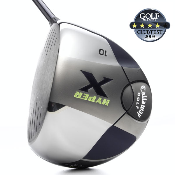"Callaway Hyper X                        $299, graphite                       callawaygolf.com                                              We tested: 9°, 10° and 11° in Fujikura Fit-On X graphite shaft. Shaft length: 45.5""                                              Company line: ""Strategic hyperbolic shaping of the wall face thickness dramatically improves impact efficiency and produces the largest effective hitting area of any all-titanium Callaway driver. This generates higher ball speeds across the entire face.""                                               Our Test Panel Says:                        PROS: Significant feedback lets you know when and where you miss it; energetic, exploding feel, great pop, very good stability; medium, penetrating ball flight; reduces sidespin on toe and heel shots; large clubface and clear alignment aid inspire confidence behind the ball; the big, forgiving clubhead allows you to take dead aim down the fairway.                                               CONS: Light head can get lost during the swing, making some testers reluctant to turn it loose; limited workability; noticeable distance loss on thin strikes; can lose shots right.                                               ""After a good strike my forearms feel like they've thrown a knockout punch."" — Mike Gorski (14)                                              Rate and Review this club."