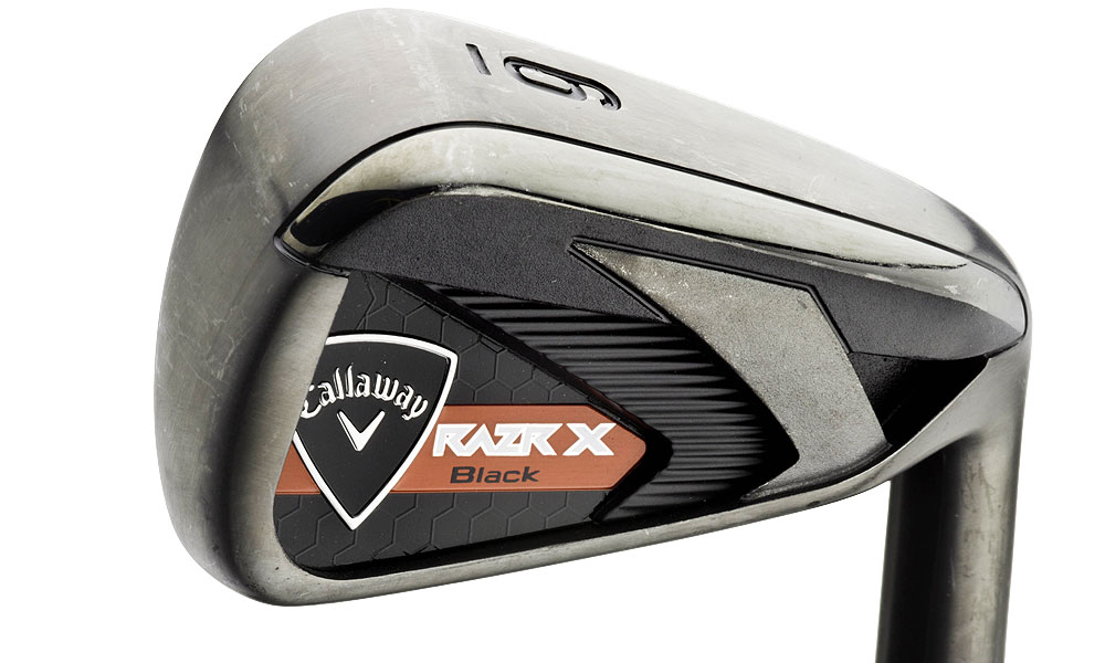 Callaway RAZR X Black Irons ($799, steel; $999, graphite)                     Read complete review""