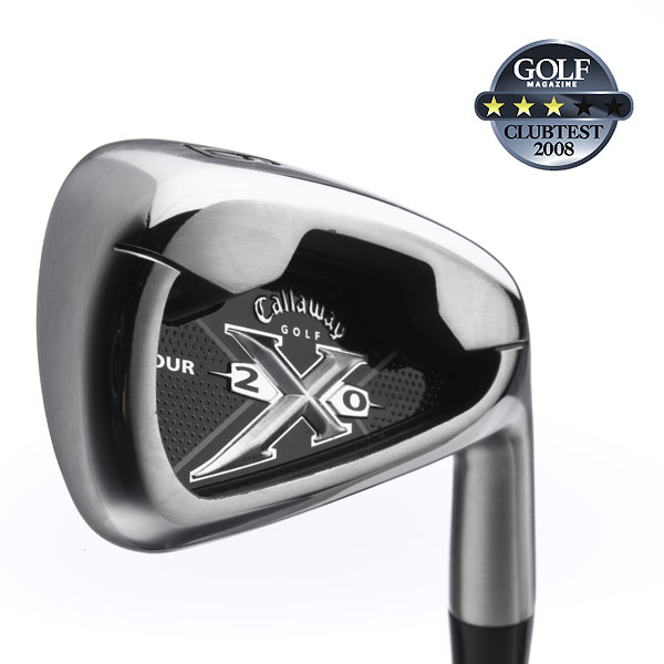 "Callaway X-20 Tour                        $699, steel; $799, graphite                         callawaygolf.com                                               We tested: 3-PW in Royal Precision Rifle Project X Flighted steel shaft. Shaft length/loft (6-iron): 37.5""/30°                                               Company line: ""A narrower sole, beveled trailing edge, chamfered topline and high toe produce a more traditional look that appeals to the highly skilled player. The heel design reduces turf drag, while a longer hosel positions the CG for optimum trajectory control.""                                               Our Test Panel Says:                        PROS: A great club if all you want is straight; a steady performer from rough; sidespin is a nonissue; one-half club longer than most on solid hits, longer on misses; non-glare brushed finish isn't a distraction; larger face increases sweet spot; nicely weighted; you wish your wife were this forgiving; good for those transitioning from a larger, game-improvement club.                                               CONS: Don't expect much shot shape; chips feel dull, almost numb, and come off too fast; not overly playable; look elsewhere if you want tons of excitement.                                               ""Very forgiving for a players' club."" — Mark Haberstroh (4)                                              Rate and Review this club"