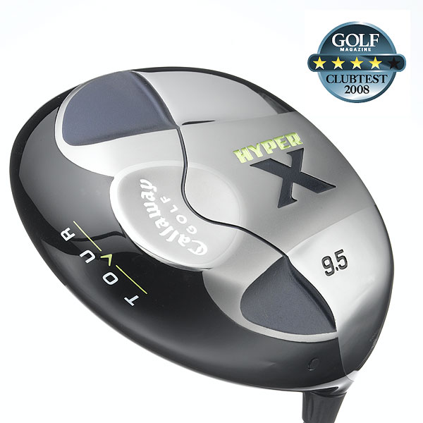 """ClubTest 2008: Drivers — Tour                   GOLF Magazine asked a group of accomplished players — all with a handicap between 2 and 10 — to test the newest drivers designed for better players. See which was their favorite.                                      Callaway Hyper X Tour                   $329, graphite                    callawaygolf.com                                      We tested: 9.5°, 10.5° in Fujikura Fit-On E-360 graphite shaft. Shaft length: 45.5""""                                      Company line: """"Hyper X Tour drivers are designated by half-degree lofts (8.5°, 9.5° and 10.5°) and have face angles that are slightly open, providing highly skilled golfers with a more pleasing look at address and increased workability.""""                                       Voted Best For Distance                                      Our Test Panel Says:                    PROS: This baby outdistances its competition; stability through the hitting zone provides consistent distance; many testers experience a neutral flight to slight fade bias, so you can take the left rough out of play; excellent spring effect on contact, shots bound off the clubface; you can get it to produce gentle fades and draws, like any good 460cc driver should.                                       CONS: This head/shaft combo isn't for natural faders who want to eliminate right-side misses; at address, the face looks like it has little loft, which can be intimidating.                                       """"The longest Callaway I've ever hit."""" — Jon Dobberstein (7)                                      Rate and Review this club"""