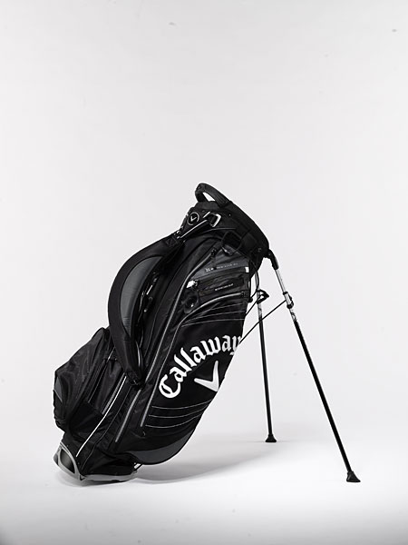 "Callaway Hyper-Lite 4.0 ($160): The ""4-point double strap system"" transfers weight evenly across your shoulders to limit possible discomfort. The well-conceived ""XTT Flex Foot Base"" technology ensures a stable platform when you set the bag down, which virtually eliminates slipping during leg activation."