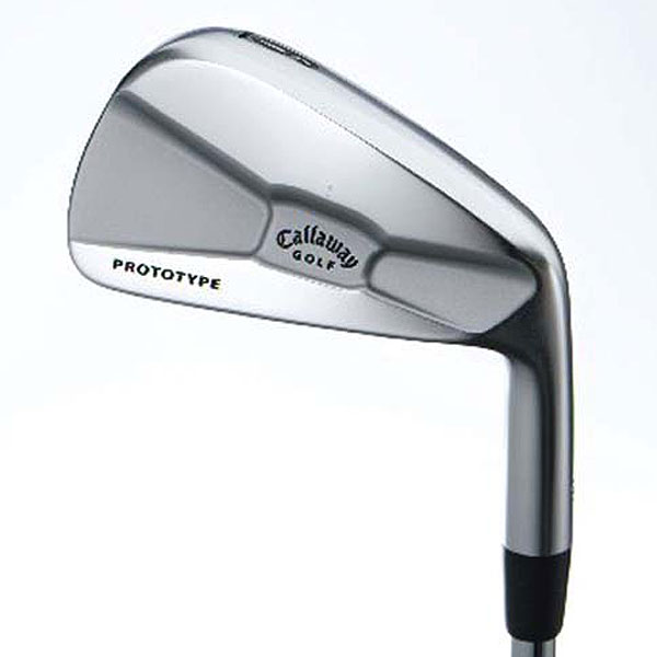 Callaway Tour Authentic X-Prototype                     $1,499, steel                     callawaygolf.com                     Construction: Forged from 1020 carbon steel                     Finish: White chrome                                          • These are custom order only, with limited distribution. Long irons have a lower CG and short irons a slightly higher one, to generate optimal ball trajectories                     throughout the set.                      • Purists should embrace its minimal offset, narrow sole and short blade length.                      • Precise weighting in the 'X-muscleback' makes it easy to maneuver shots high or low, left or right.