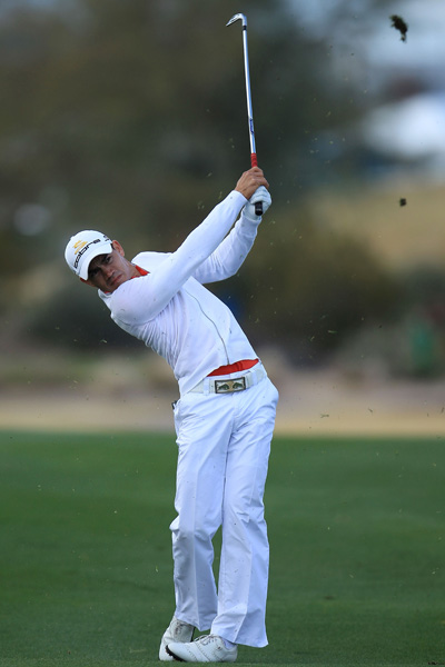 In 2010, with Tiger quiescent, a new generation of superb athletes started to make a statement. Some louder than others.                                          Superfit Camilo Villegas wears his own clothing line, by the Swedish designer J. Lindeberg. It features pale shades, very fitted shirts and flare-bottom trousers, with edgy, abstract accessories.