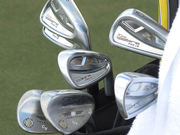 used these Cobra Pro CB irons to win last week's Honda Classic.
