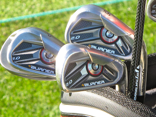 Camilo Villegas had TaylorMade make him a custom set of the company's new Burner 2.0 irons.