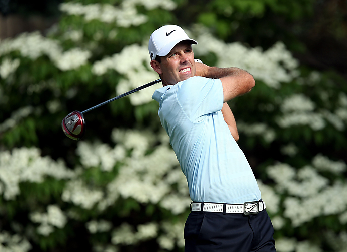Charl Schwartzel shot an impressive seven-under 65 in the morning to take the first-round lead.
