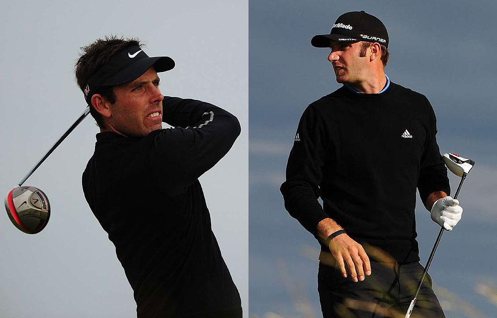 The classy all-black look, made famous by Gary Player, was in full revival this year. Both Charles Schwartzel and Dustin Johnson went that way on Day 1 at the British Open.