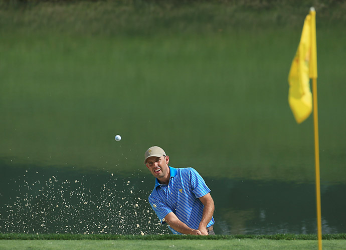 2011 Masters champion Charl Schwartzel is on the International team once again.
